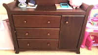 Brown wooden 3-drawer chest Menifee, 92586
