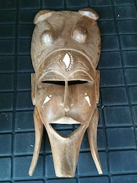 authentic Nigerian wedding ceremony mask Cranston, 02910
