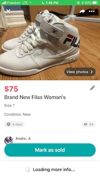 Woman Fila Shoes Toronto, M6E 2G7
