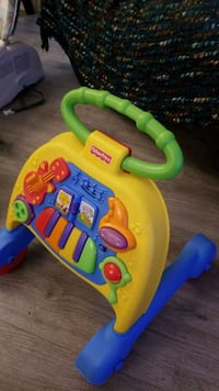 FISHER PRICE  learn to walk stages  Surrey, V3R 2G5