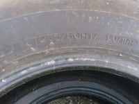 5) 235/80/R17. Tires in good condition. Mills, 82604