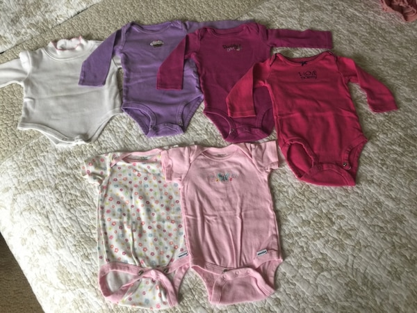 Toddler's assorted clothes 6 months