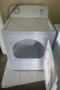 6/mo old white clothes dryer Los Angeles, 90019