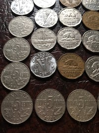 51 Antique Nickels from 1923-1965 Calgary, T2Y