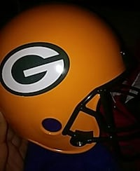 green bay packers football helmet 41 km