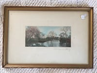 Wallace Nutting hand colored print   Middletown, 10940