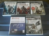 Assassins Creed 5 game collection (PS3)  Lauderhill, 33319