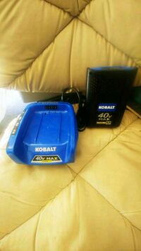 Kobalt 40v Max Charger and Battery Las Vegas, 89147