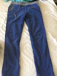 Blue denim straight-cut jeans 2357 mi
