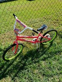 toddler's red and black bicycle 828 mi