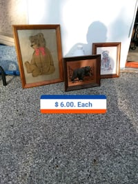 two brown wooden photo frames Saint Charles, 63301