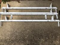 Ladder racks for work van easy to install came off of 2008 Chevy express Arlington, 22203