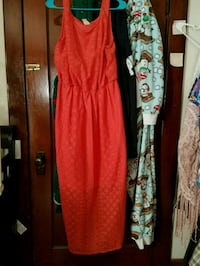 red and black floral long-sleeved dress Benton City, 99320