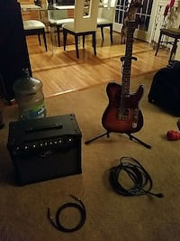 Douglas guitar and amp and extras Gaithersburg, 20879