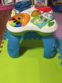 baby's white, blue, and green activity table Oro-Medonte, L0K
