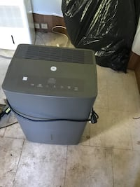 General Electric 70 pint dehumidifier with built in pump and hose attachment in like new condition all info for device is in the pictures and if you have questions ask  433 mi