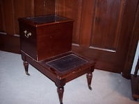 sewing box with drawer .
