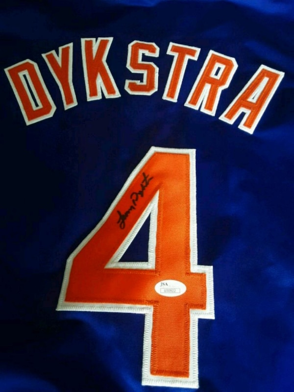 sports shoes 6c96b 8711d Lenny Dykstra (Authenticated) AutographedJersey