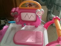 pink and white plastic kitchen playset 27 km