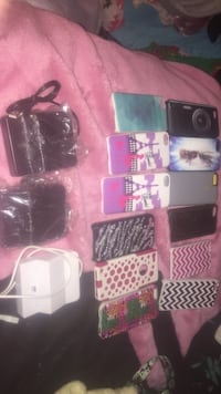 very good condition iphone 5 cases and samsung chargers. make an offer please