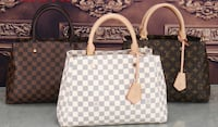 damier azur Louis Vuitton leather tote bag Lewisville, 75067