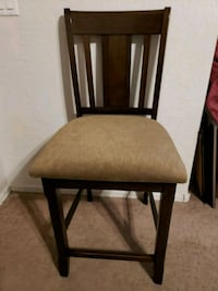 Gorgeous Tall Bar Chair / Stool with a Wide Seat - Queen Creek, 85142