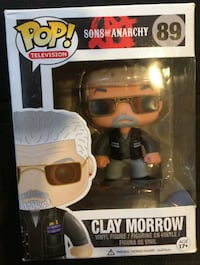 Funko Pop Vinyl Clay Morrow Sons of Anarchy New in Box- Never Opened Wantagh