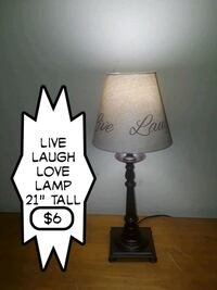 Live laugh love lamp  Virginia Beach, 23452