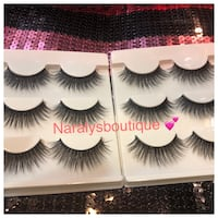 3 Pairs of Flutter mink lashes style 3D,F060 Palmdale, 93552