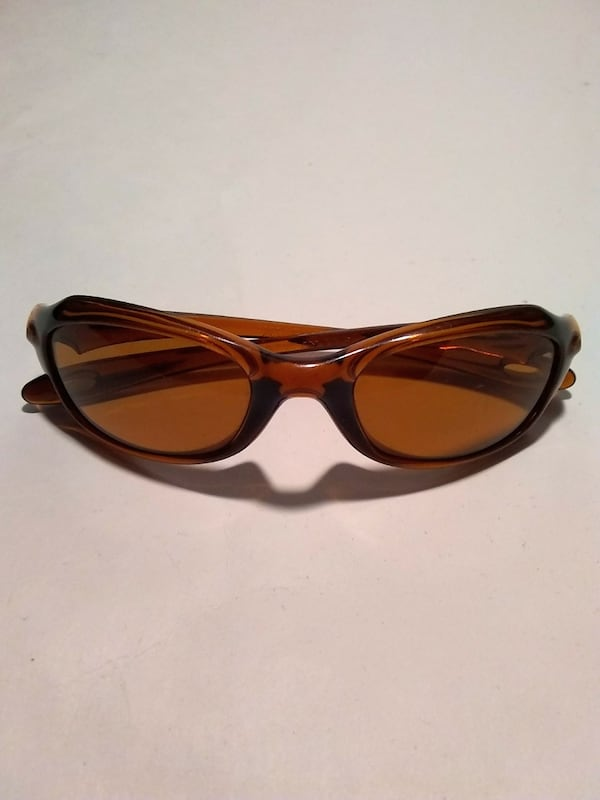 Oakley Xs Youth Kids Brown Wrap Sunglasses 3