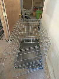 Large dog cage.colapsable.42/26/29. Maywood, 07607