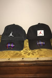 Jordan and polos hats $10 each