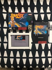 Super Nintendo Star Fox Game CIB Brantford, N3V