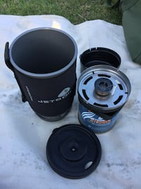 Jet Boil compact camp stove
