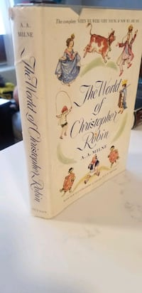 The World of Christopher Robin by A.A. Milne First Edition 1958 New York