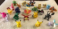 25 New Pokemon Small Toy Figures (Pikachu, Rayquaza, Frokie & much more!) $15 ALL FIRM Visalia, 93292