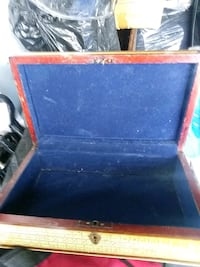 blue and brown wooden chest San Antonio, 78207
