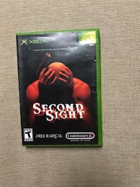 Second Sight With Instruction Booklet For XBOX Tested & Works Louisville, 40213