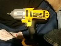 black and yellow Dewalt cordless power drill Edmonton, T5W 3L5