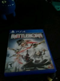 Sony PS4 BattleBorn game & case Richmond, 40475