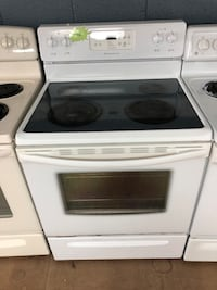 Frigidaire white electric stove