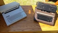 two brown-and-white type writers Merrimac, 01860