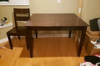 FREE DELIVERY*Wooden Table and 4 chairs Markham, L3P 2A7