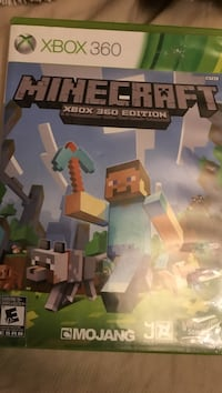 Minecraft Xbox 360 game case