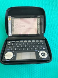 CASIO dictionary 伯纳比, V5H 2S7