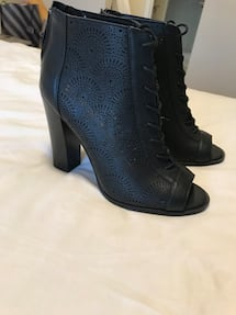 Lace up boots size 7.5