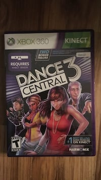 Xbox 360 Kinect Adventures game case