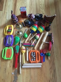 Lots of toys! Action figures, vehicles, Pokémon, Transformers, other movie-related toys and musical instruments, all in good condition - $100 or best offer for the lot! New York, 10003