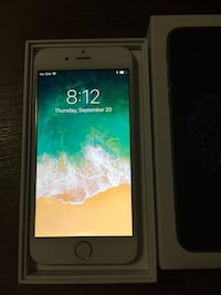 Silver iphone 6 with box Montréal, H3N 2G2