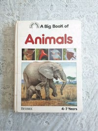 "(Learn About) A Big Book of Animals Book ""Age 4-7"" Mississauga, L5R"
